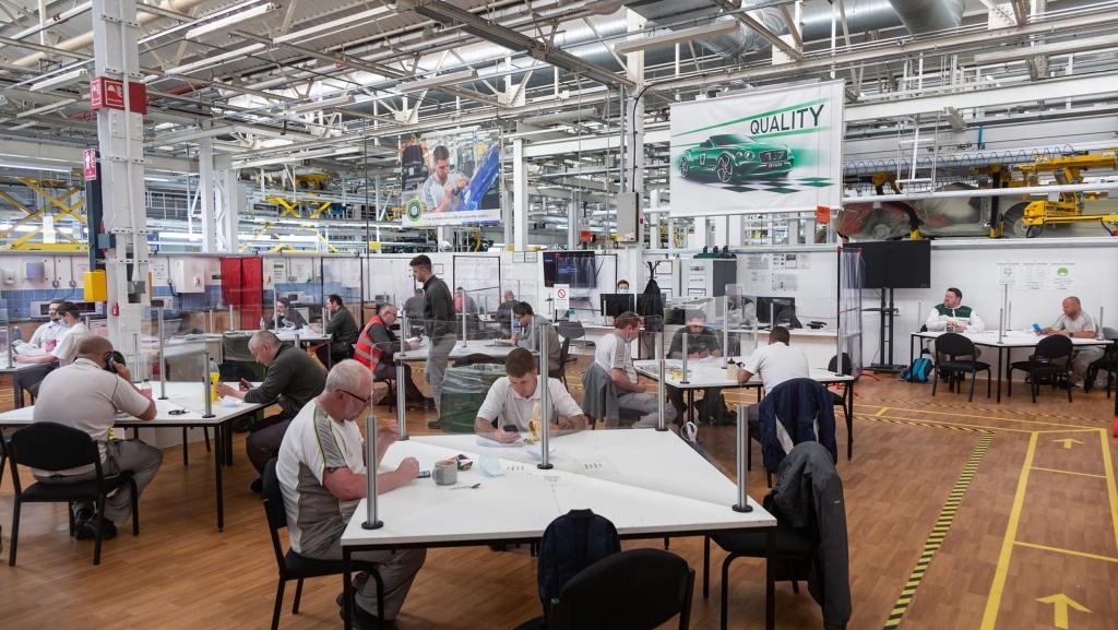 Bentley's Crewe factory-6